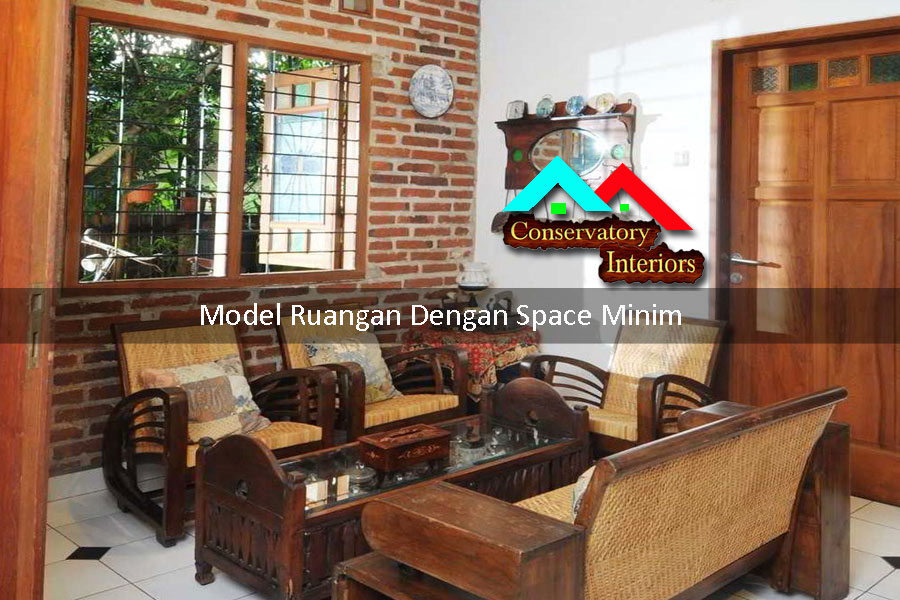 model ruangan dengan space minim